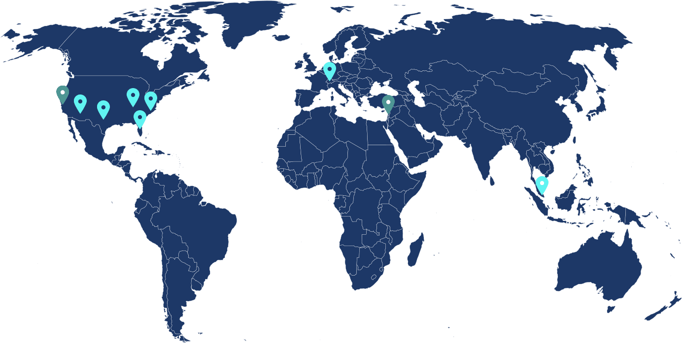 global offices map